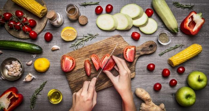 Belle idée salade composée originale; salade froide
