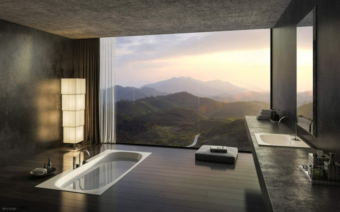 Belle salle de bain cosy belle salle de bains avec douche