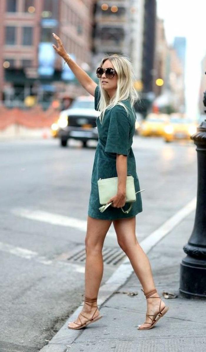 Tenue de jour - comment s habiller aujourd'hui New York robe courte
