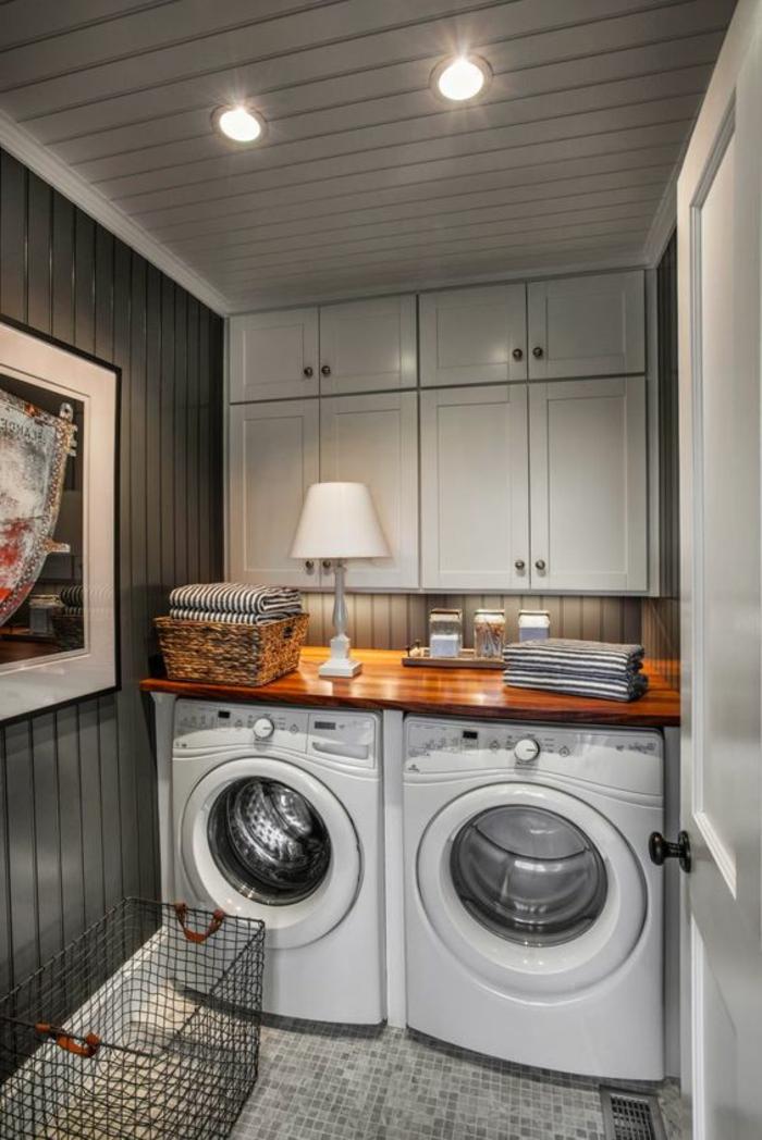 am nager sa buanderie fonctionnelle et belle une t che facile avec nos 66 id es en photos. Black Bedroom Furniture Sets. Home Design Ideas