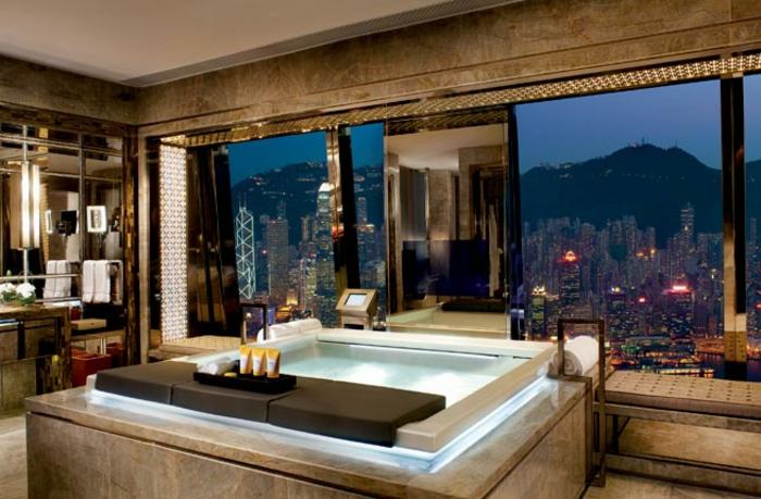 Douche design idee salle de bain luxe marbre belle