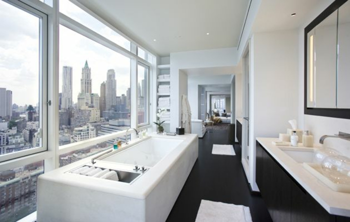 1001 id es pour l 39 agencement salle de bain qui va for New york city bathroom decor