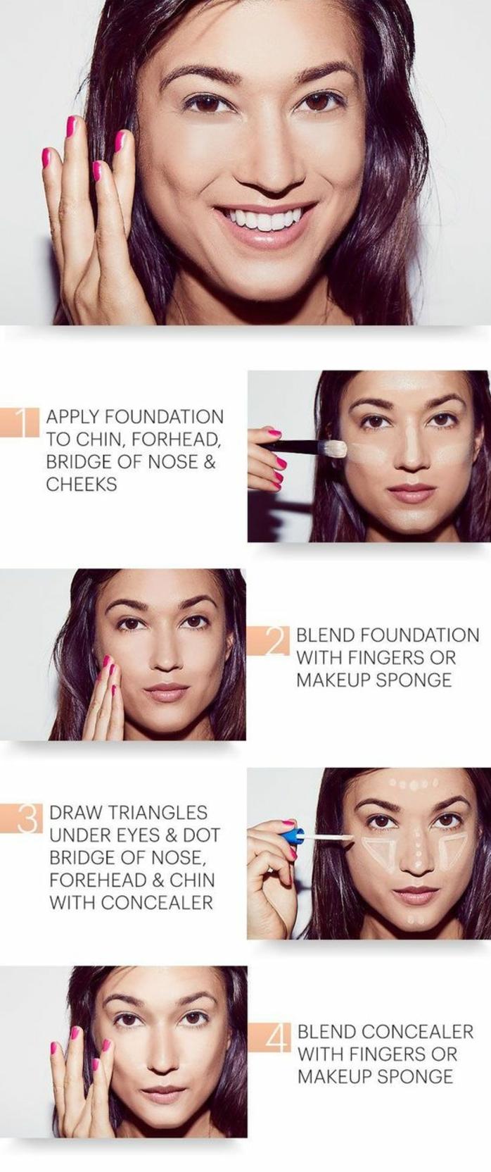 tuto maquillage naturel parfait en quelques minutes