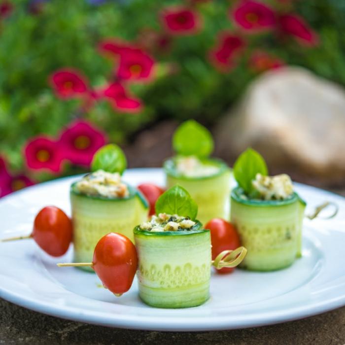 Délicieuse salade composée original; idée salade