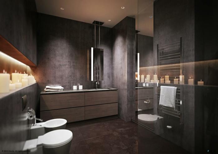 Photo salle de bain douche à l italienne maison