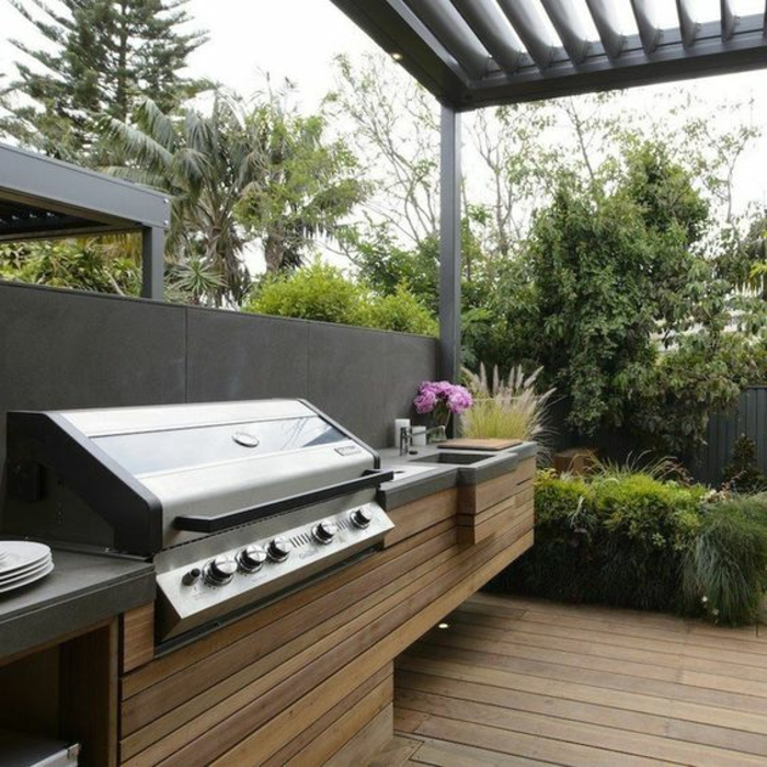 ▷ 1001+idées d'aménagement d'une cuisine d'été extérieure - Construction Cuisine D Ete Exterieure