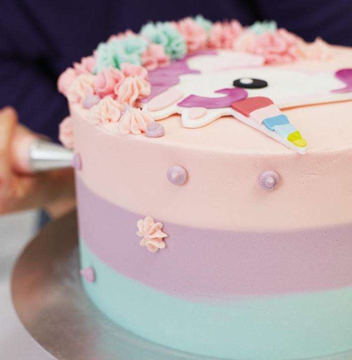 gâteau anniversaire thématique licorne ma licorne magique
