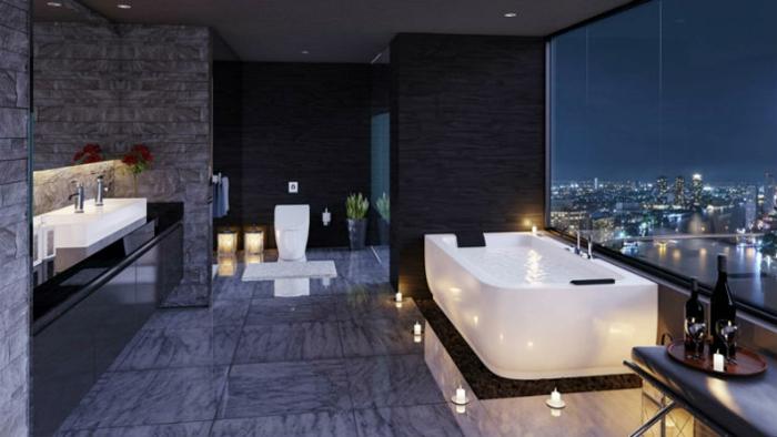 Idée salle de bain la salle de bains design cosy