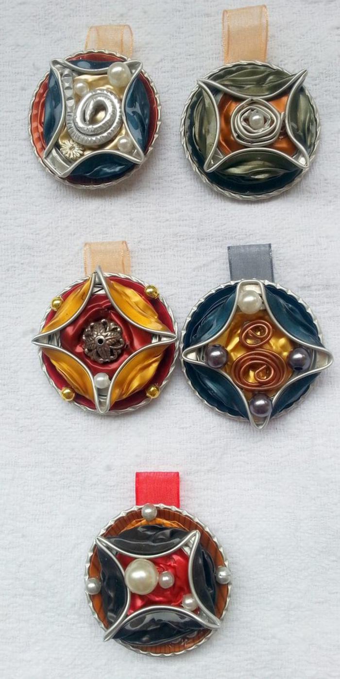 bijoux capsules, fabriquer des bagues