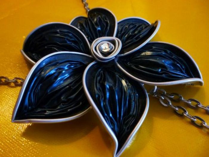 bijoux nespresso, création de bijoux en capsules nespresso