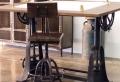Meuble industriel – une retraite décorative bien méritée