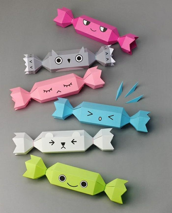 Joli petit cadeau original idée à faire soi même bonbons