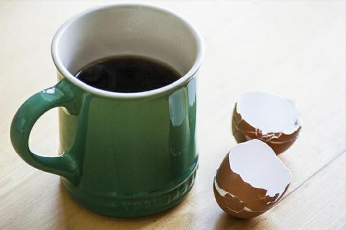 café amer, recette café à faire bouillir avec des coquilles d oeufs, recette pour moins d'amertume