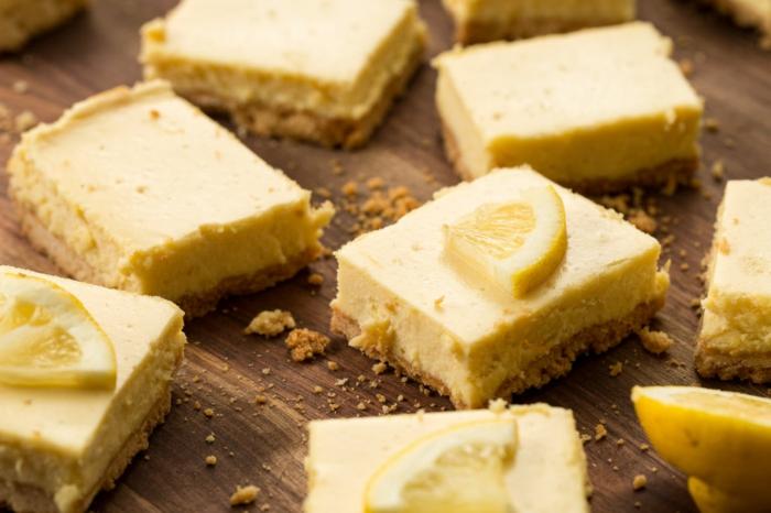 recette gateau de paques, cheesecake au citron dessert à inclure dans le menu de paques