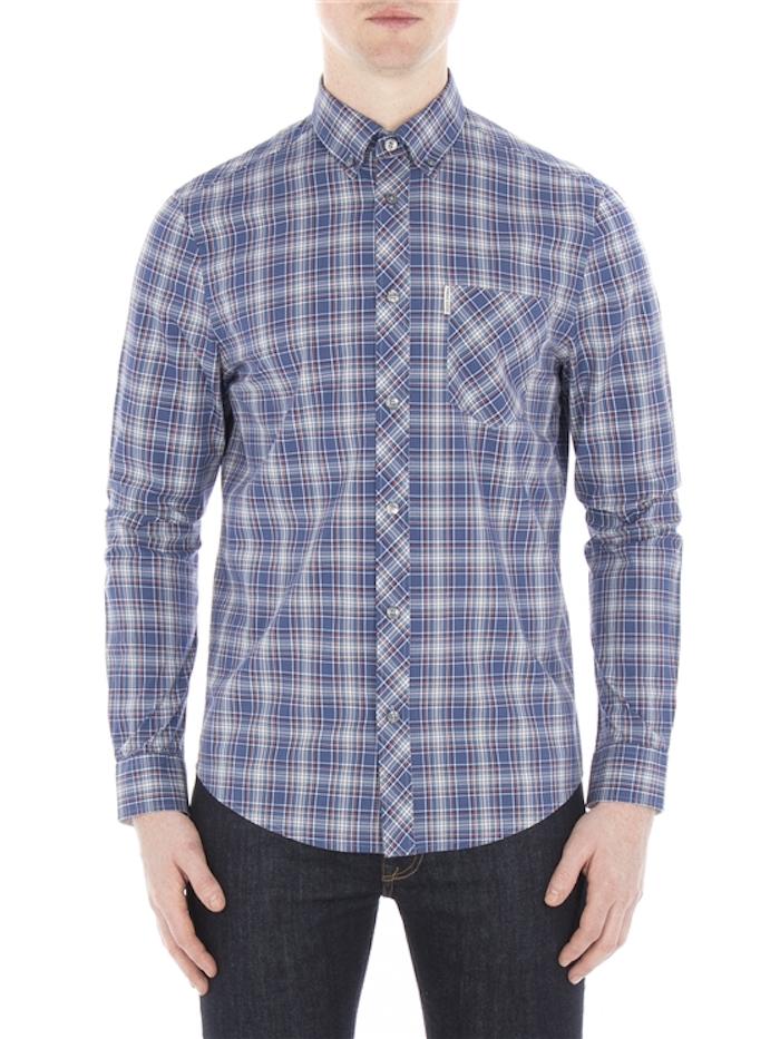 chemise carreaux homme de marque ben sherman style hipster chemises hommes