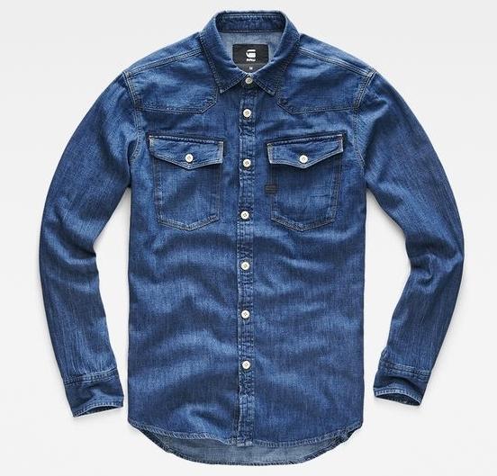 chemise homme de marque chemises jean denim 3310 g star