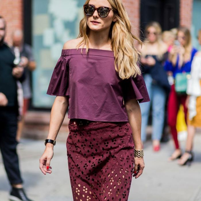 Comment savoir comment s'habiller Olivia Palermo magnifique style