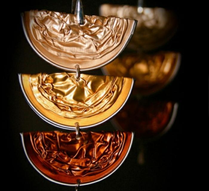 collier capsule nespresso, bijoux éc friendly en capsules