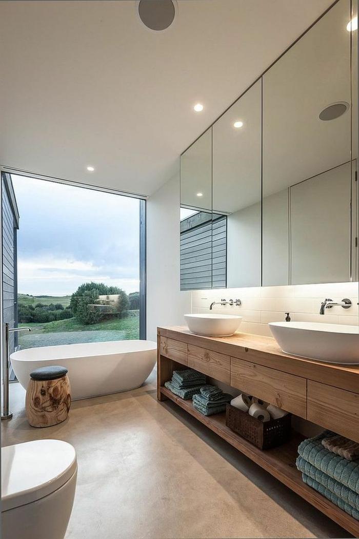 Modele de salle de bain salle de bain beige magnifique