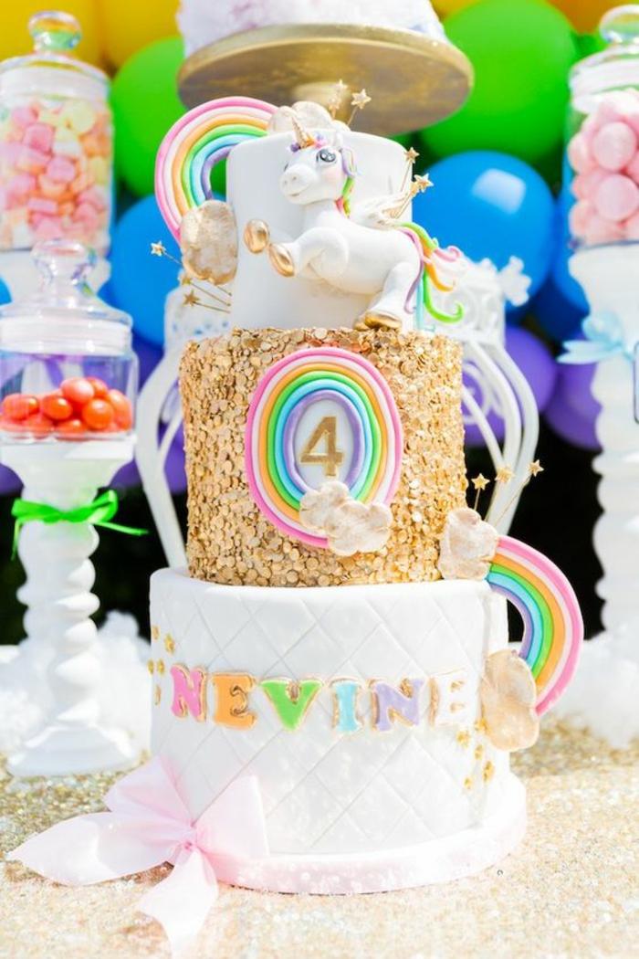 ▷1001+ idées de gâteau licorne magique pour l'anniversaire de
