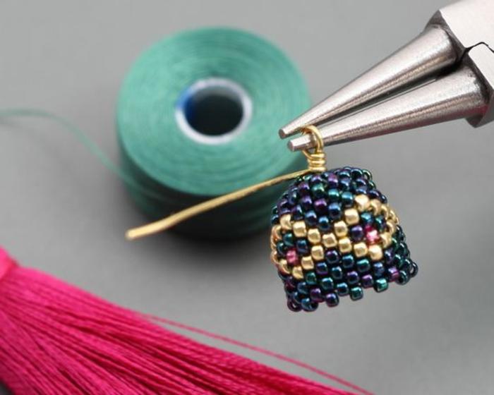 comment faire des boucles d'oreilles avec des perles hama