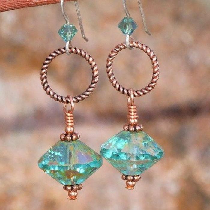 comment faire des boucles d oreilles en perles comment cr er son propre crochet pour faire des. Black Bedroom Furniture Sets. Home Design Ideas