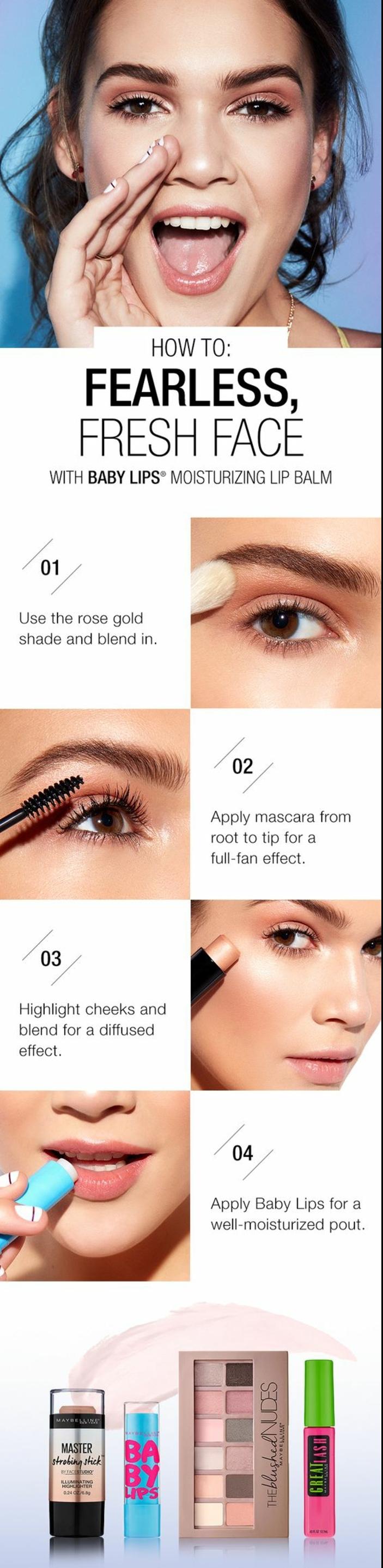 un tuto maquillage naturel facile à réaliser pour un effet nude