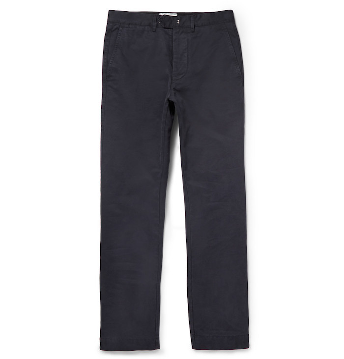 pantalon chino Officine Generale essentiels homme New Fisherman