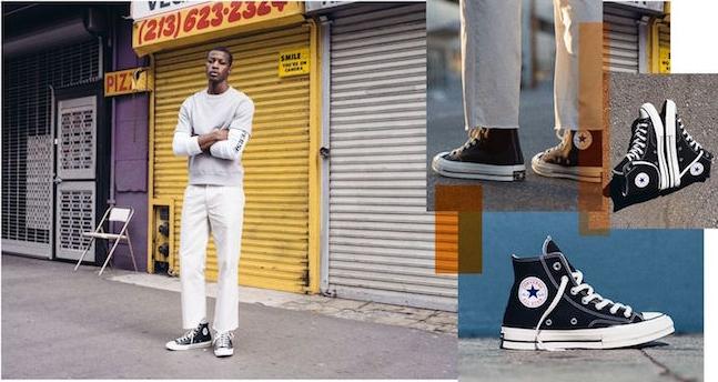 chaussure montante homme converse noir hautes all star