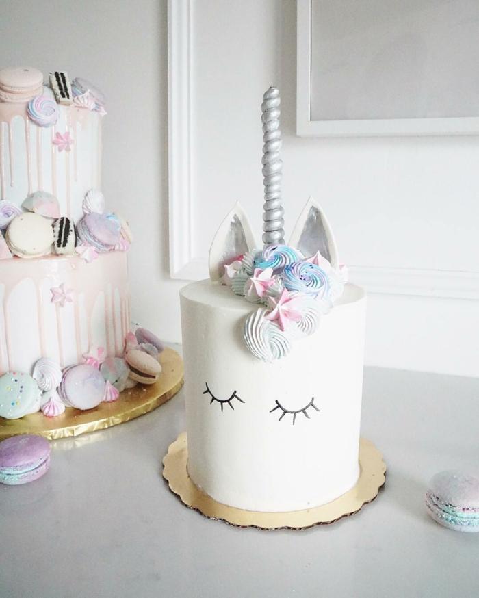 anniversaire fille recette gateau anniversaire facile licorne