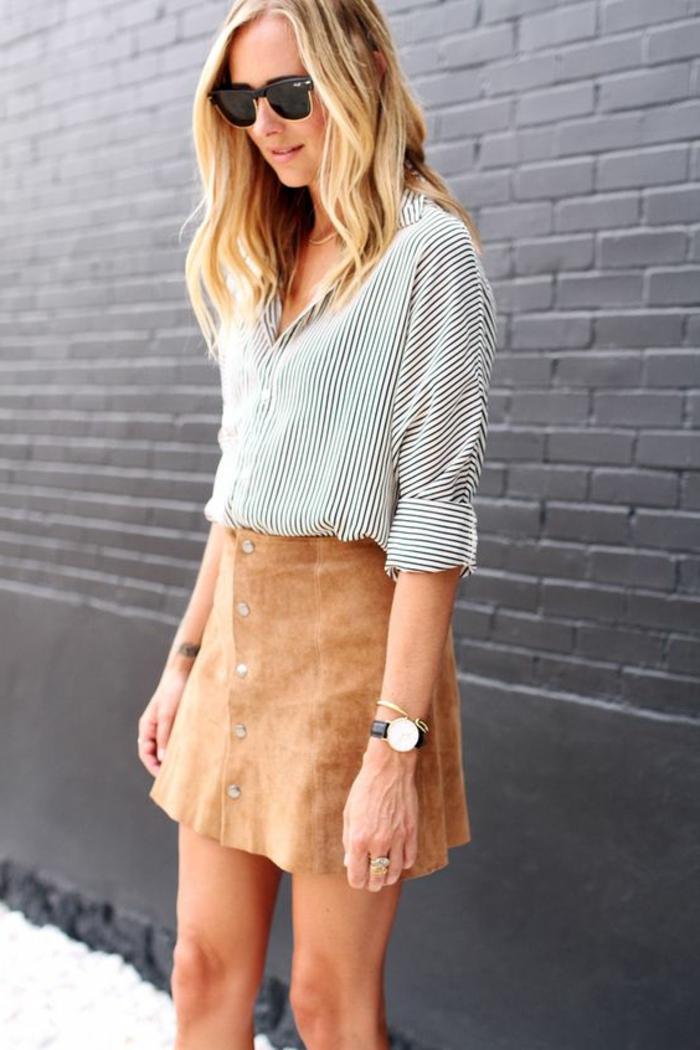 Formidable idée comment shabiller bien s habiller jupe en velours