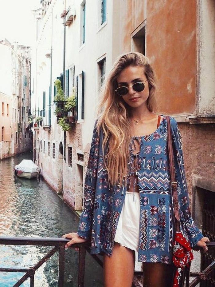 Beauté feminine comment s habiller demain Venise canal photo