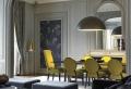Inspirez-vous avec nos 53 photos de salon gris et jaune