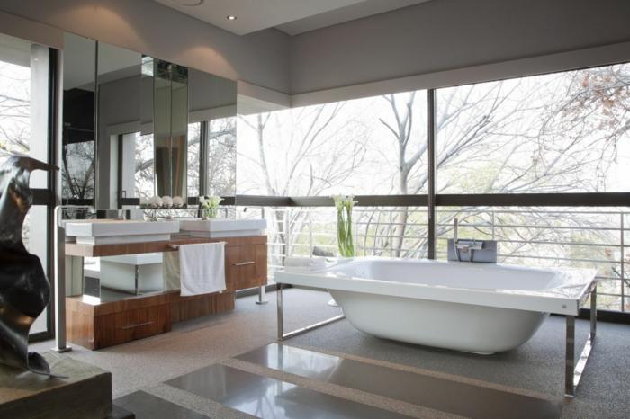 Agencement salle de bains la salle de bain moderne aménagement
