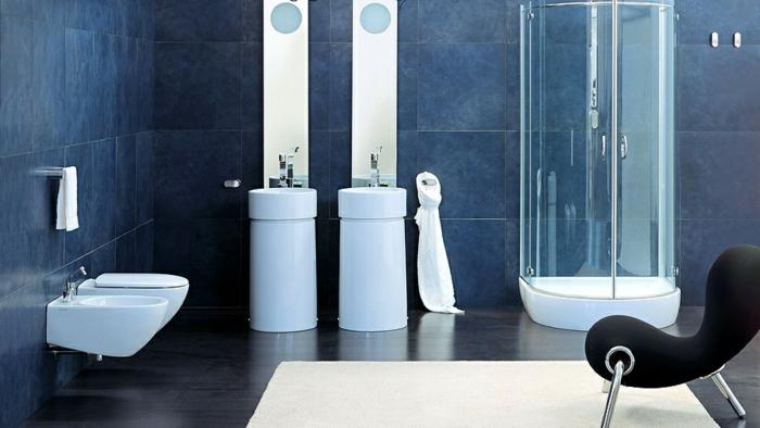 Superbe salle de bain avec douche italienne