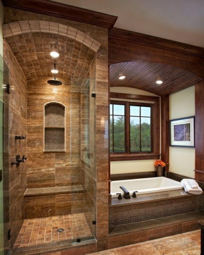 1001 id es pour l 39 agencement salle de bain qui va for Salle de bain beige et blanc