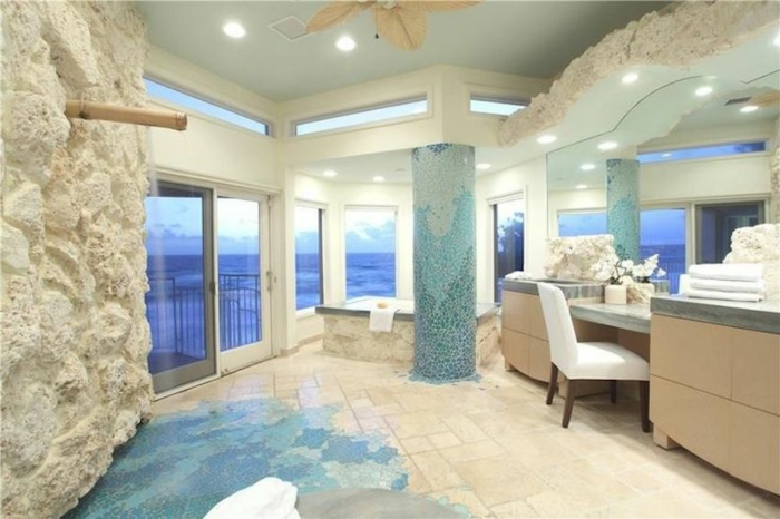 Salle de bain al italienne photo salle de bain baignoire décoration