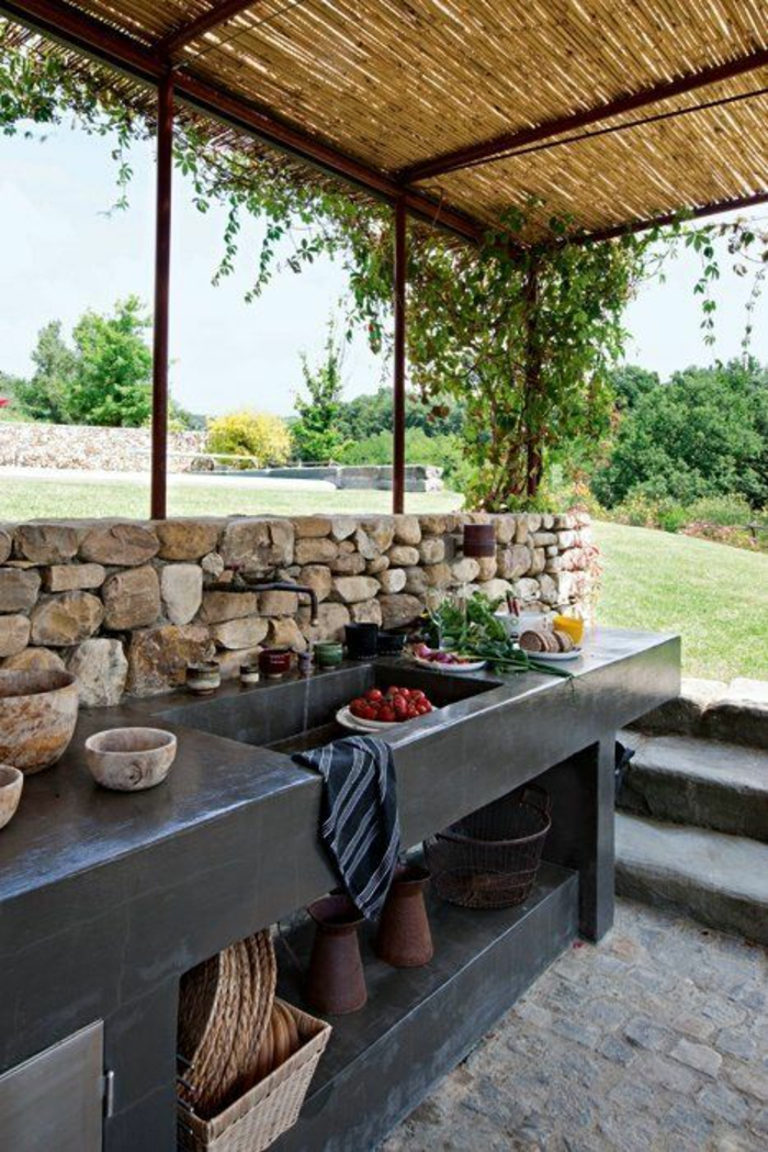 garden kitchen ideas 1001 id 233 es d am 233 nagement d une cuisine d 233 t 233 ext 233 rieure 11856