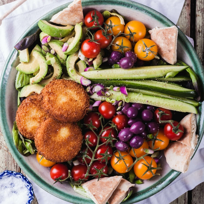 Salades originales; recettes salades composées