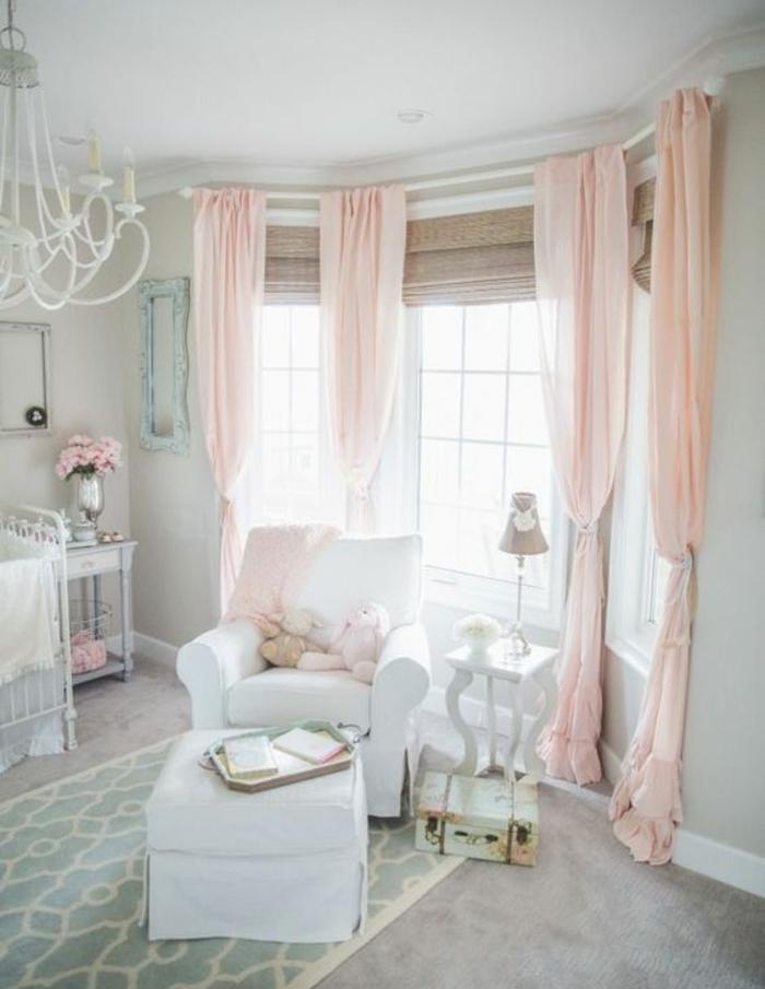 La Chambre De Fille Rose : Conseils et idées pour une chambre en rose gris
