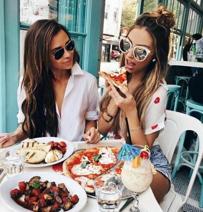 Comment s habiller en ce moment pour un déjeuner avec amie