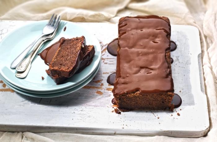 quel dessert sans oeufs et au chocolat, idée dessert facile et rapide sans produits laitiers et oeufs, gâteau chocolat rapide