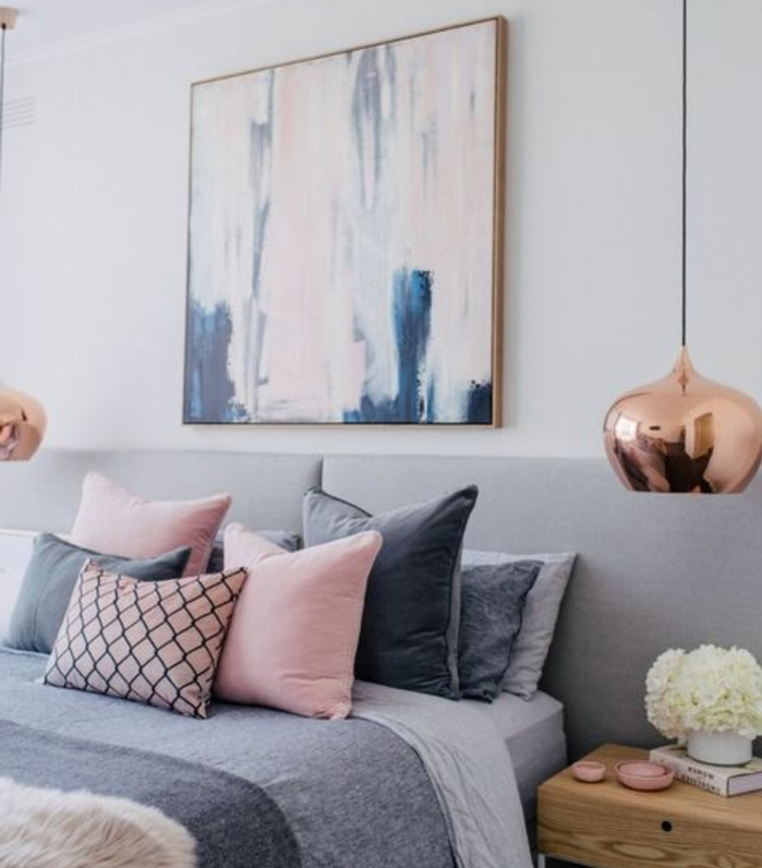 Decoration Chambre Chic Blanc Taupe