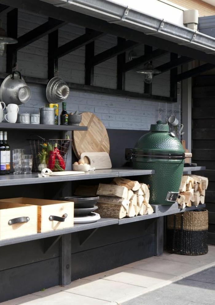 amenager une cuisine exterieure meuble cuisine ete exterieur amenagement cuisine dete en pierre. Black Bedroom Furniture Sets. Home Design Ideas