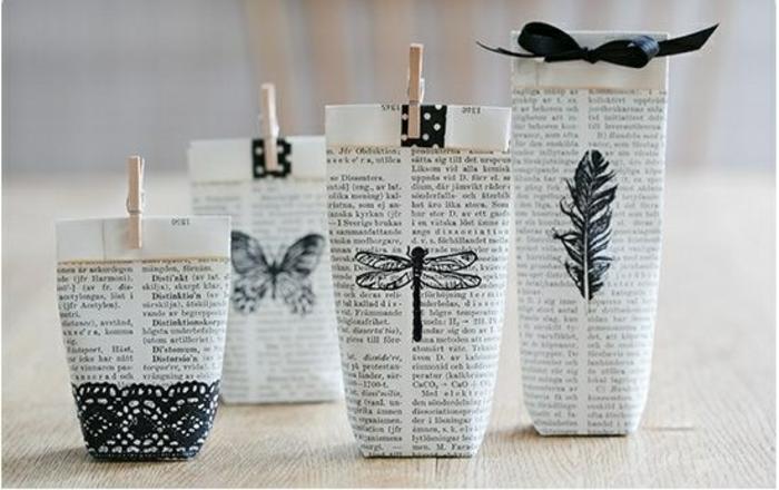 Joli petit cadeau original idée à faire soi même papier et peintures