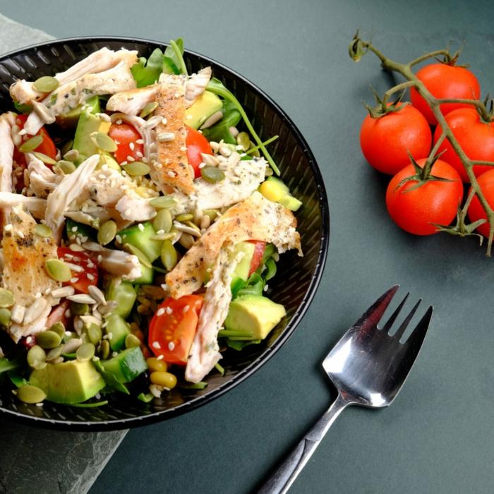 1001 id es comment pr parer la plus d licieuse salade compos e originale. Black Bedroom Furniture Sets. Home Design Ideas