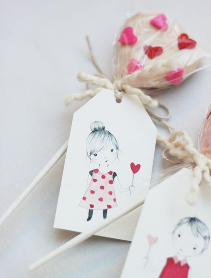 La meilleure idée cadeau invités mariage ou anniversaire petits cookies coeur forme