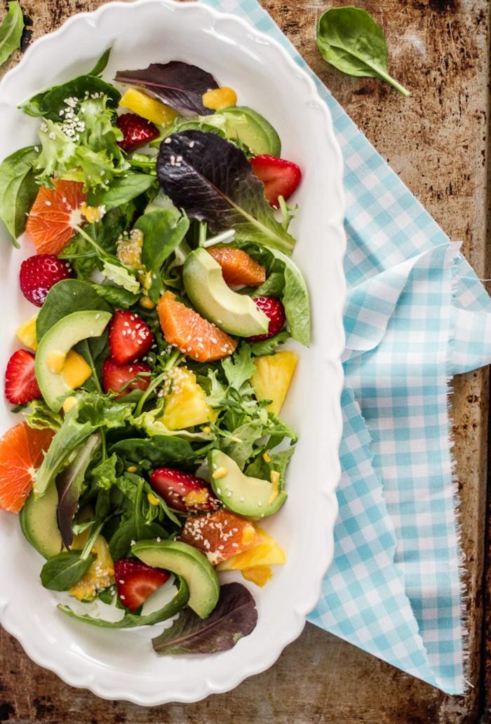 Salade de crudités recette froide salade composée d'hiver