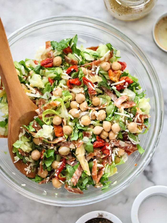 Recette légère soir – la salade composée facile