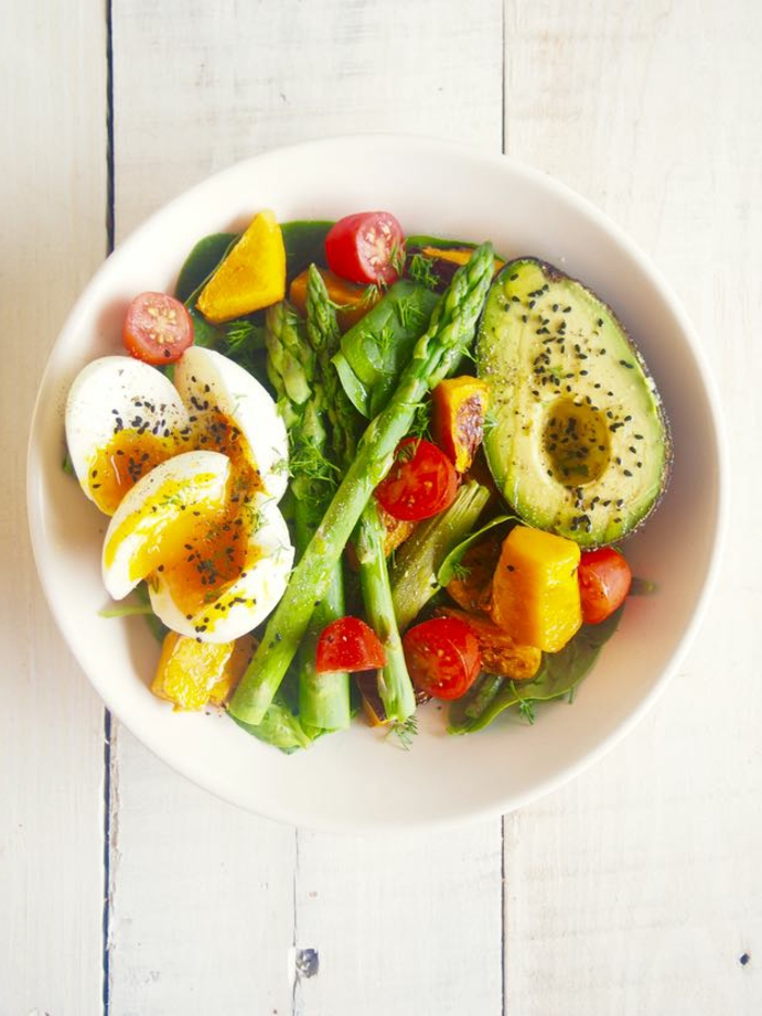 Salade fraiche recette salade composée hiver avec de l'avocat